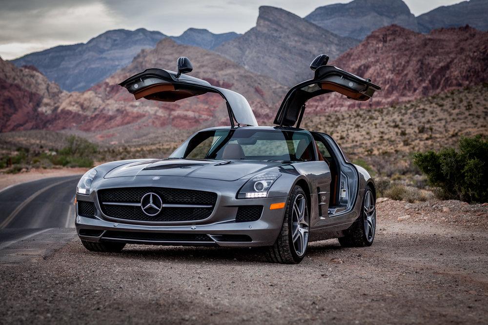 SLS AMG |Red Rock Canyon, Nevada