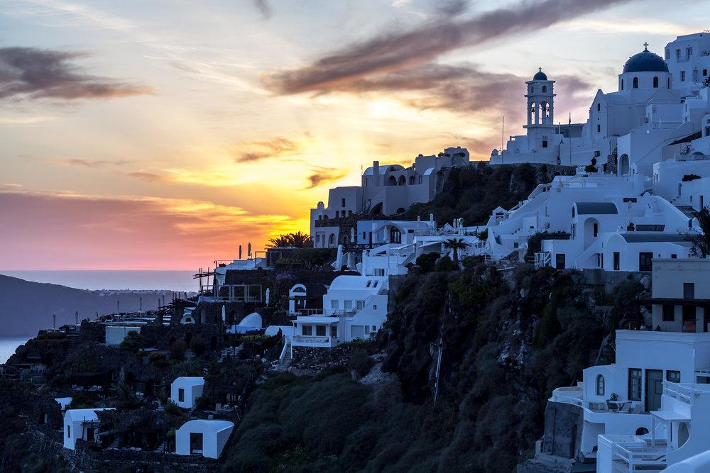 Imerovigli Sunset | Santorini, Greece