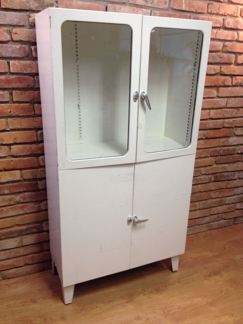 Vintage Medical Cabinet - could you use it as a pantry-type cupboard, or a place for cups and plates?