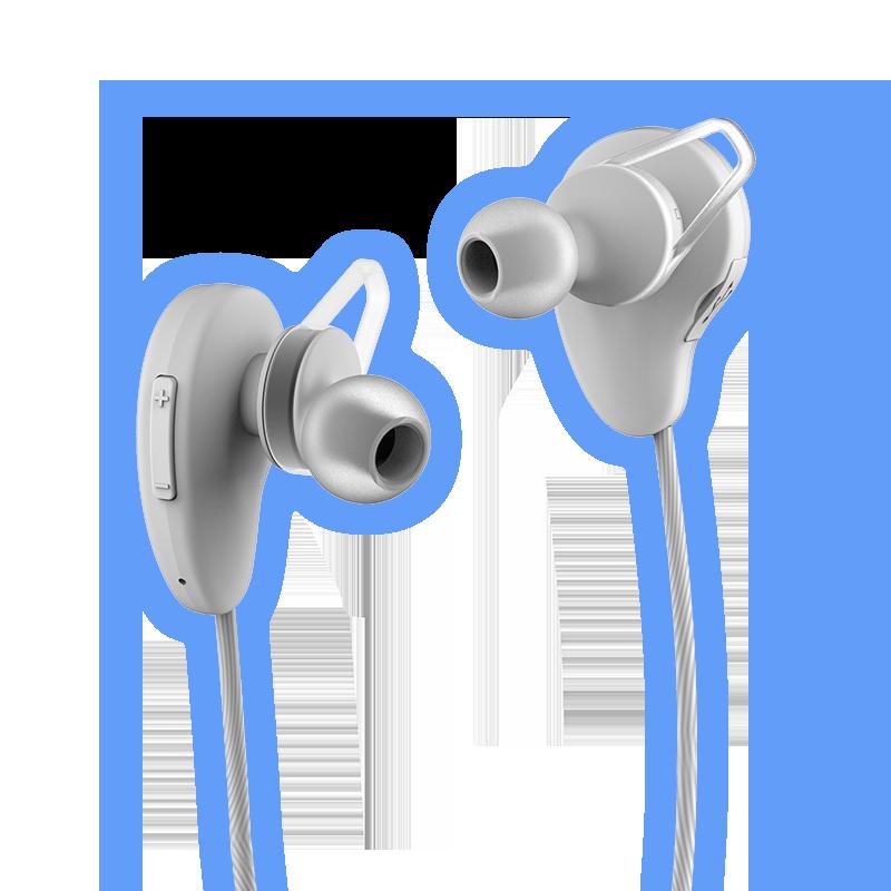 Rowkin-Pulse-White-Wireless-Earbuds-Sports