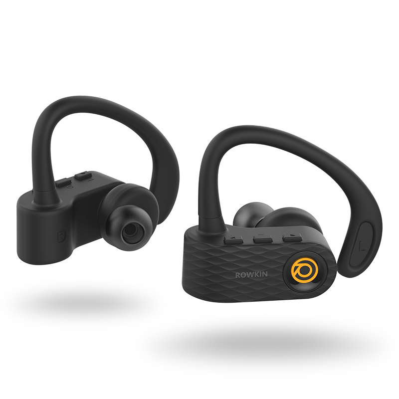 Rowkin-Surge-true-wireless-headphones-bold-orange