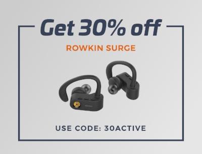 30% OFF Rowkin Surge