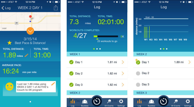 Couch to 5K Free Health App 2018