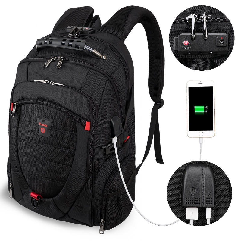 Tzowla Anti-Theft Backpack