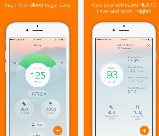 """15.) Sugar Sense - Along with health, the key to leading a good life is being happy. This app uses science-based strategies developed by psychology experts to help you improve your satisfaction and well-being. When you open the app for the first time, you will have to select a """"track"""" (such as reducing stress levels, finding more me time, conquering negative thoughts, etc.) that you'd like follow. Once you choose your track, you'll get short tasks on a daily basis that will help you lead a happier and healthier life."""