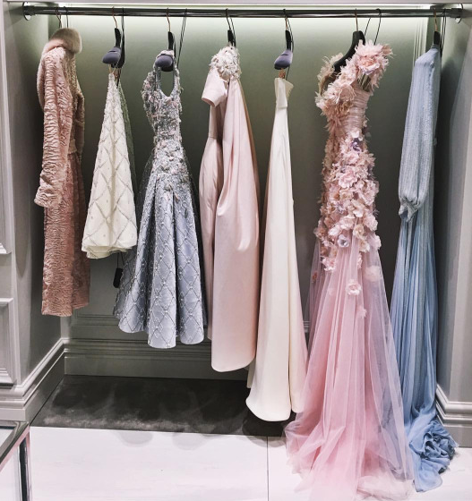 PASTELS +SHEER TULLE  -