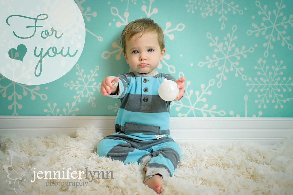Baby Boy Winter Holiday Pajama