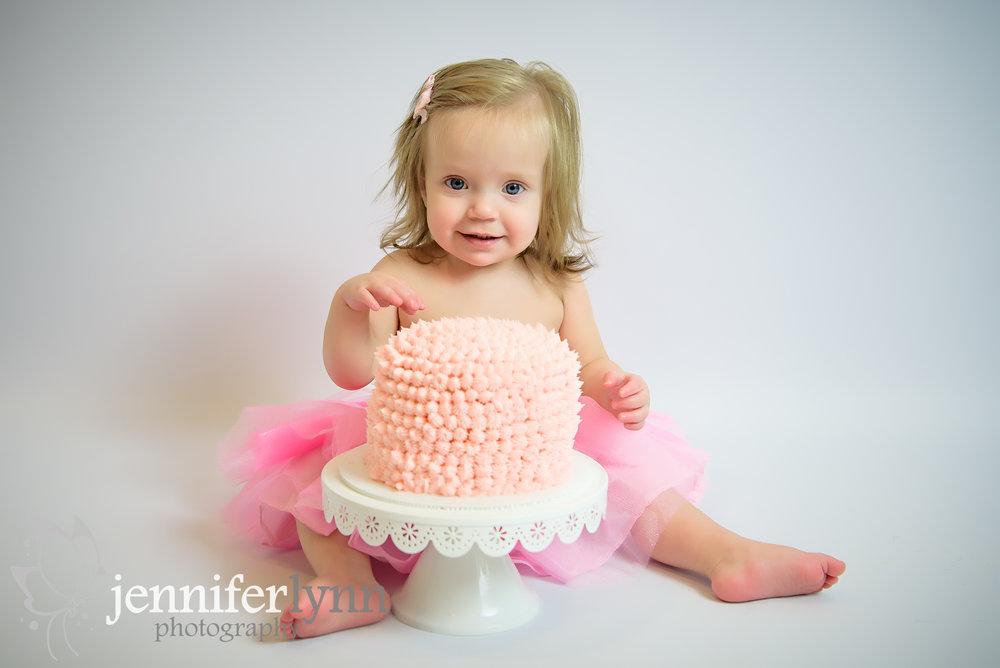Baby Girl Cake Smash Pink Tutu