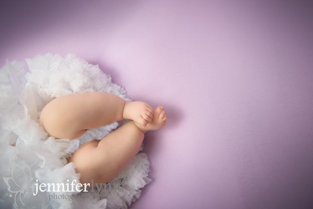 Tiny Baby Toes