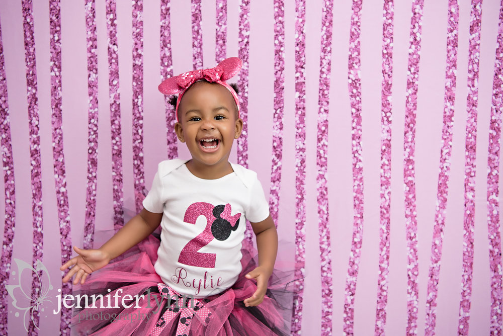 Minnie Mouse Theme Toddler Pink