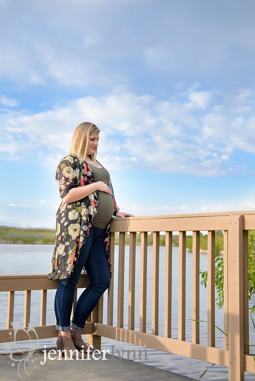 Maternity Blue Sky Pond