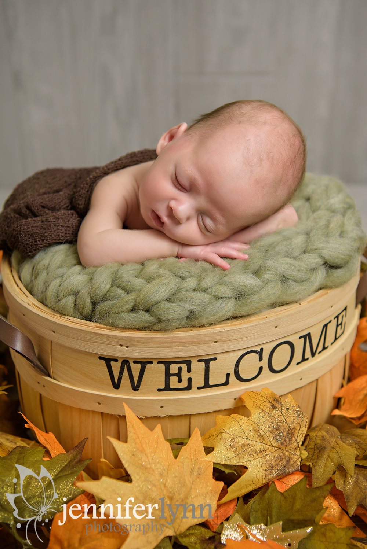 Newborn Boy Fall Welcome Basket