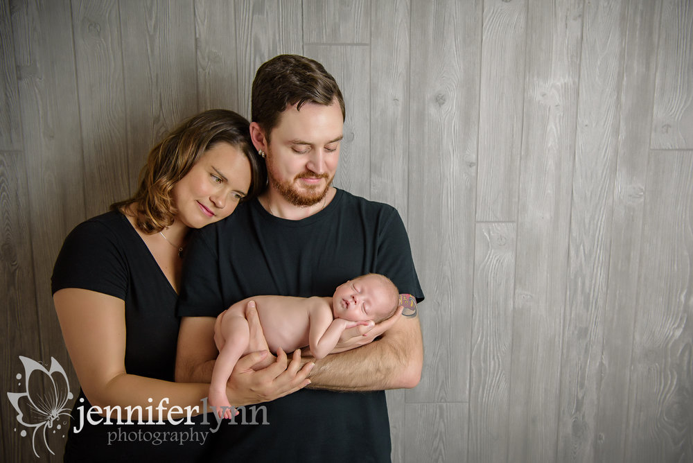 Newborn Boy Dad Arms Parents