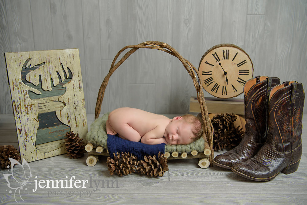 Woodlands Theme Newborn Boy