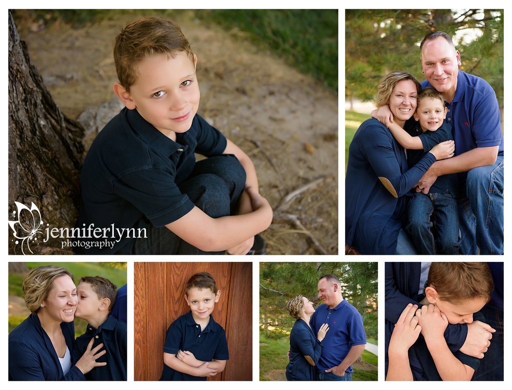 Family Lifestyle Session Outdoor Preschooler