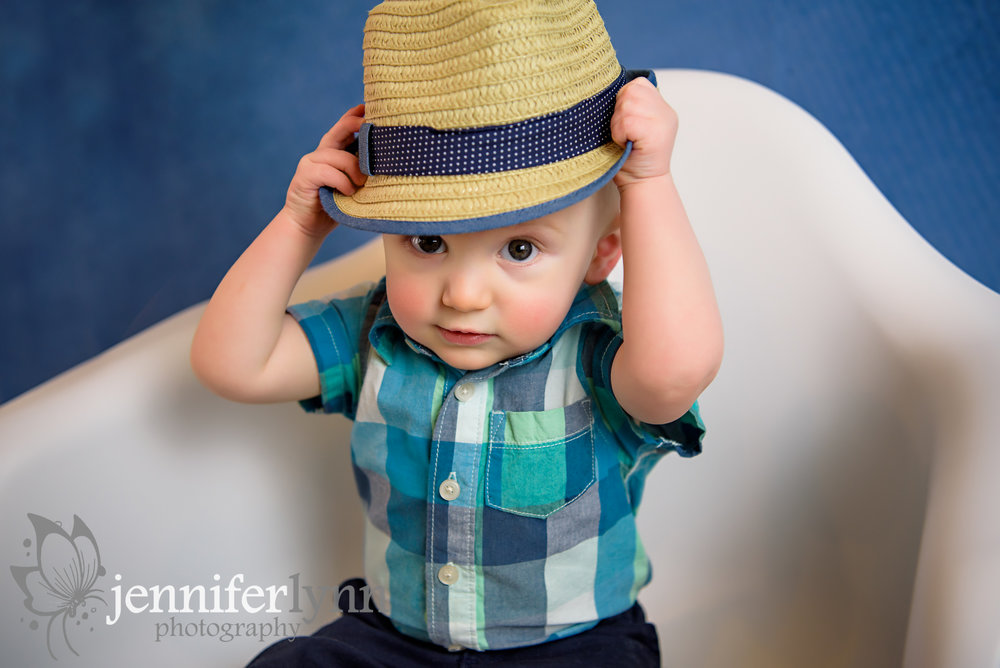Baby Boy Fedora Hat