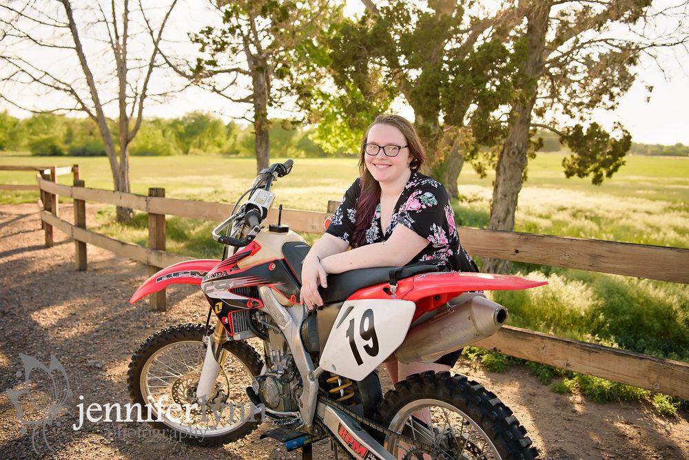 Senior Girl Dirt Bike