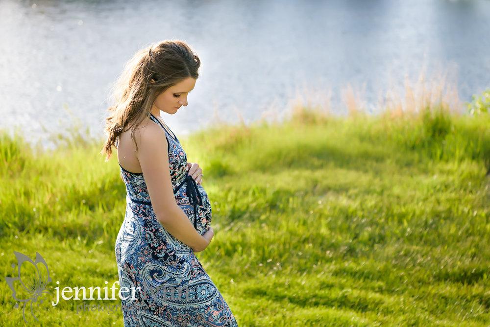 Maternity Lake Summer Sun Golden
