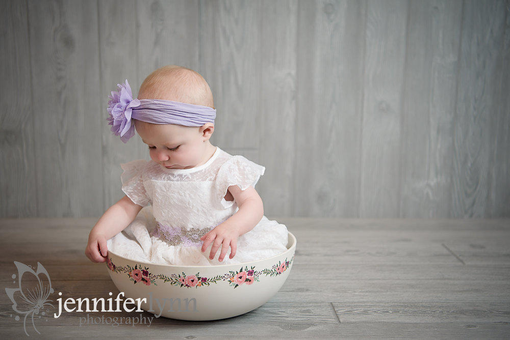 Baby Girl Lace Dress Bowl