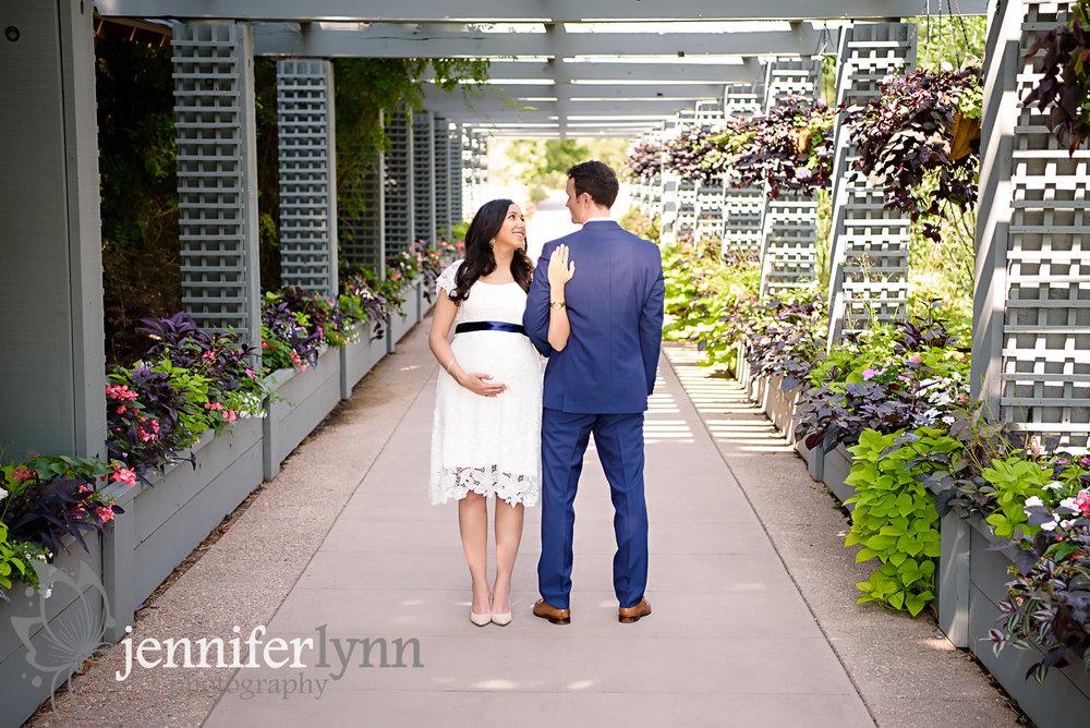 Couple under Pergola Gardens