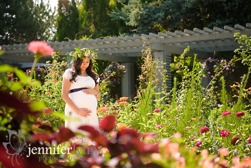 Maternity Garden Flower Crown