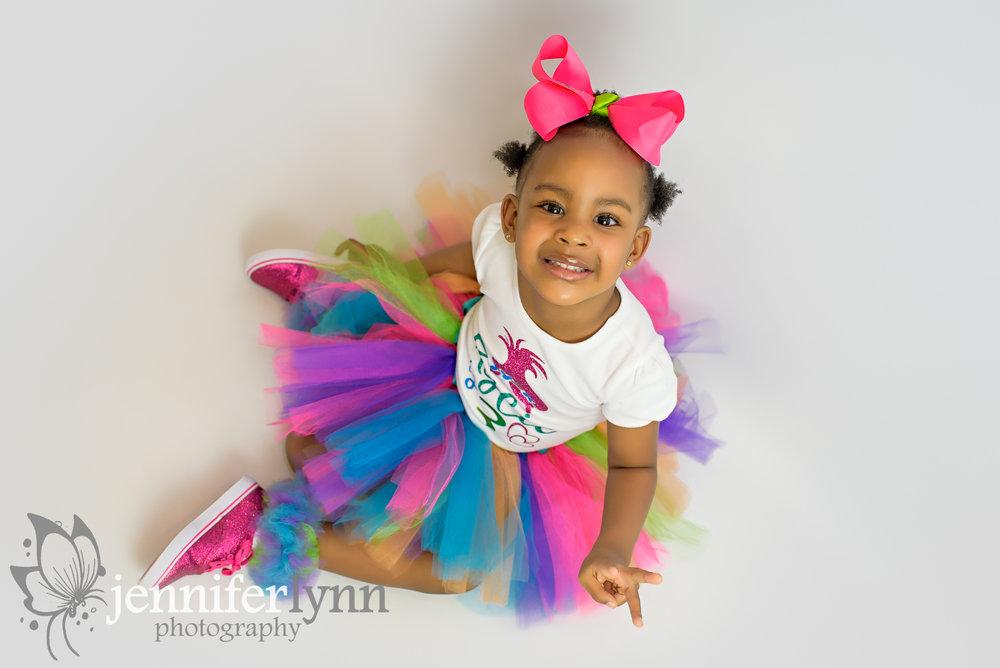 Three Years Old Girl Tutu