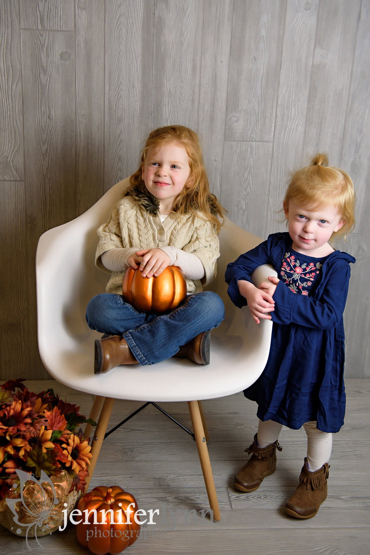 Sisters Studio Fall Photo Pumpkins