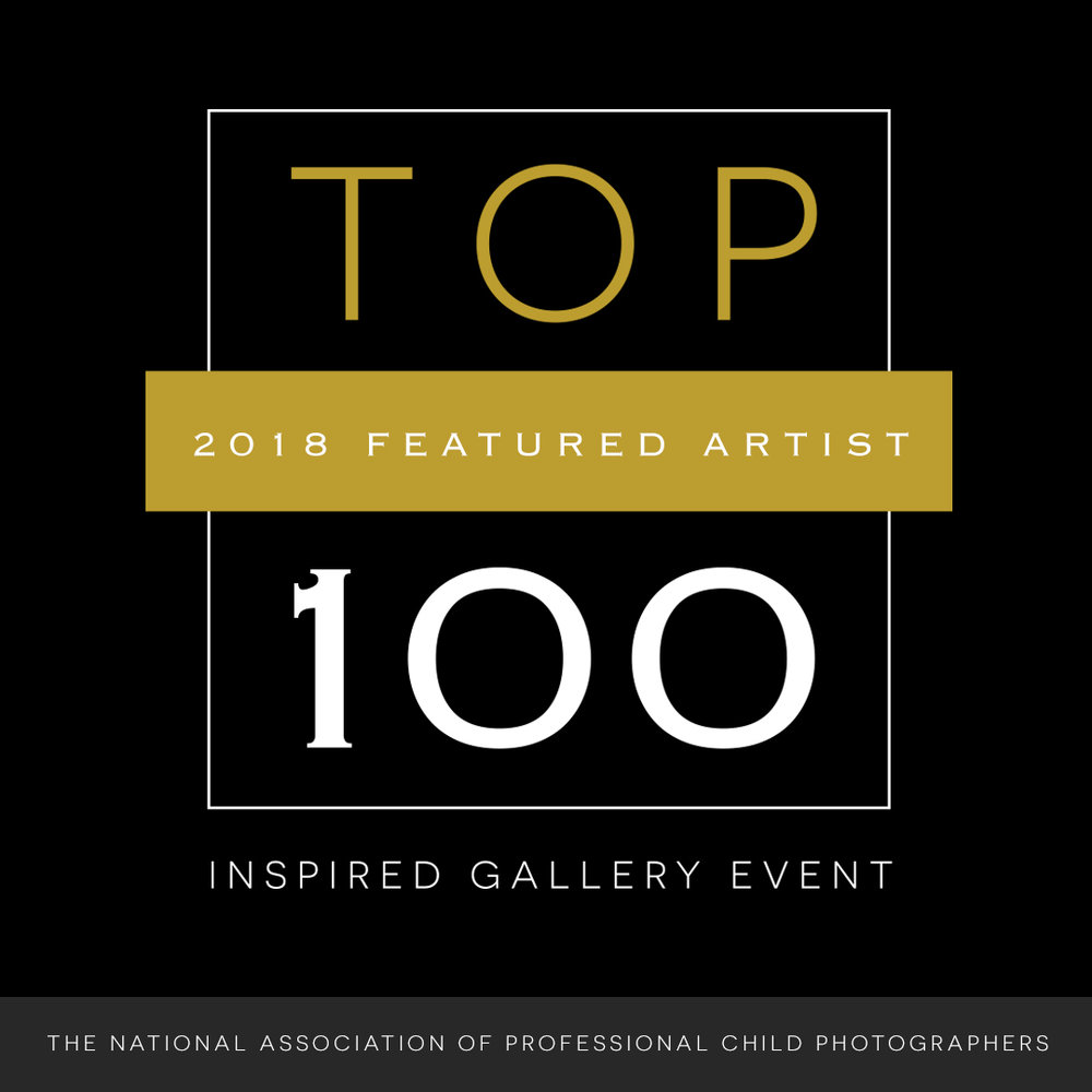 Top 100 Featured Artist with the Inspired Gallery Event 2018