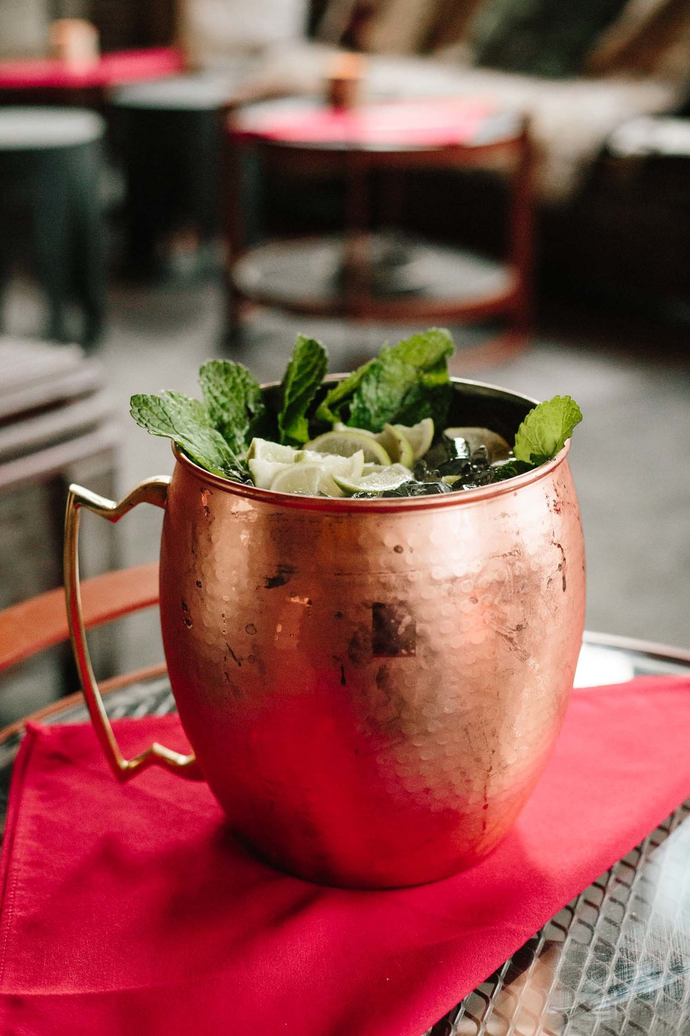 PHD Terrace introduced Sam and I to the Mega Mule. 10 lbs and SO delicious. Meant for 8-10 people.