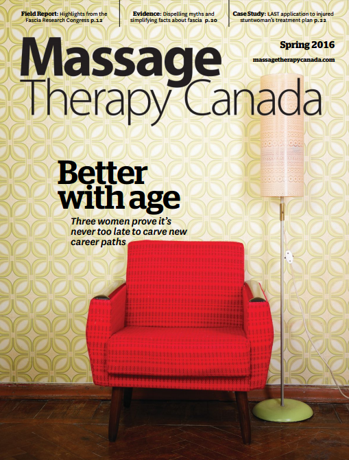Massage Therapy Canada (Spring 2016) Fascia Facts