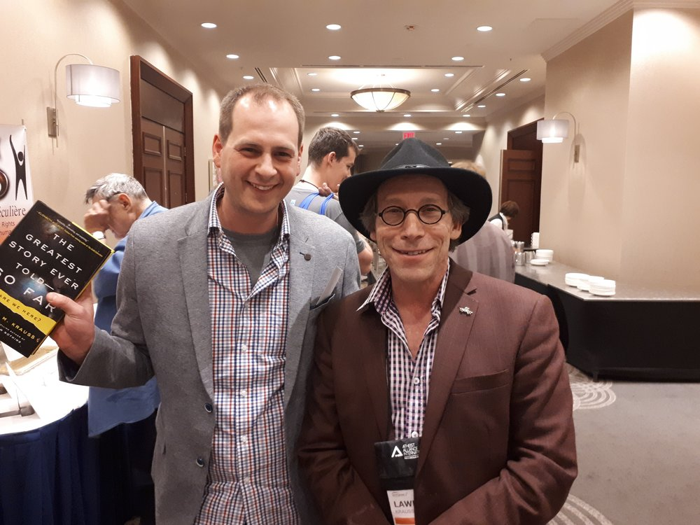 Lawrence Krauss author of  The greatest story ever told - so far