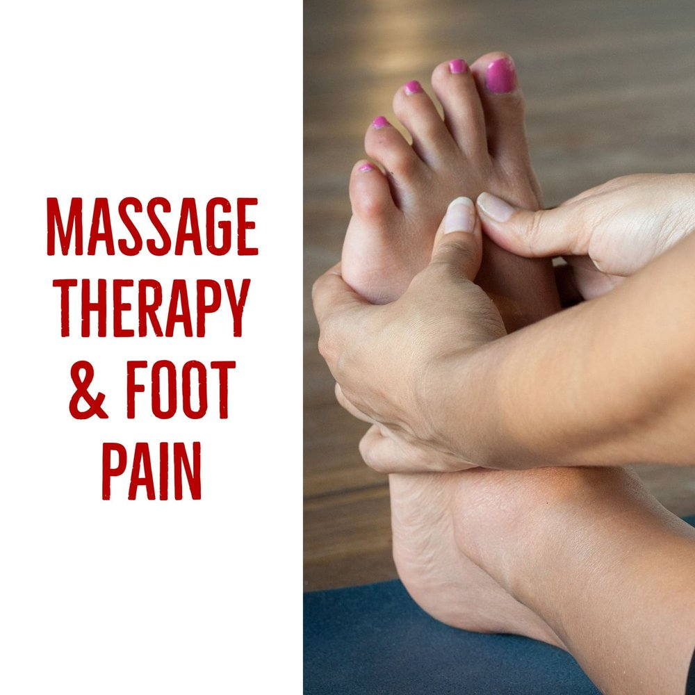 massage therapy for foot pain