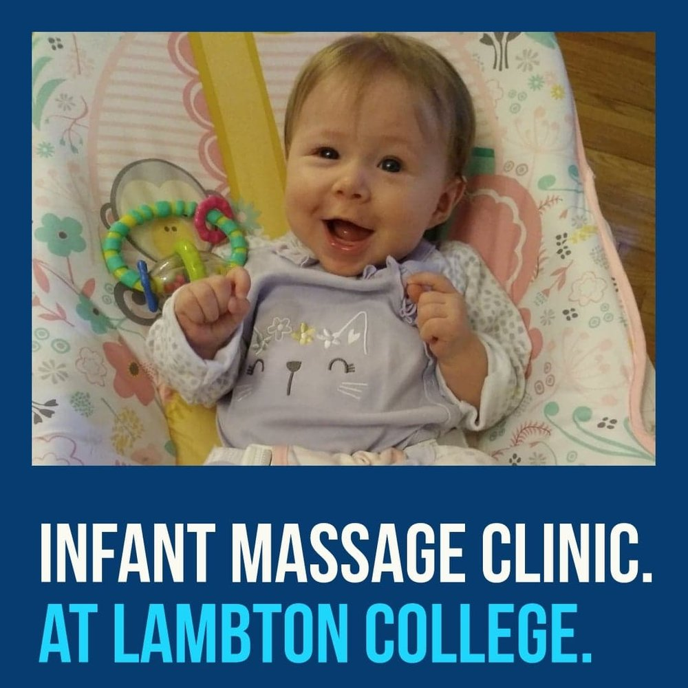Infant massage:  Wednesday Dec 5 at 10:30 a.m.