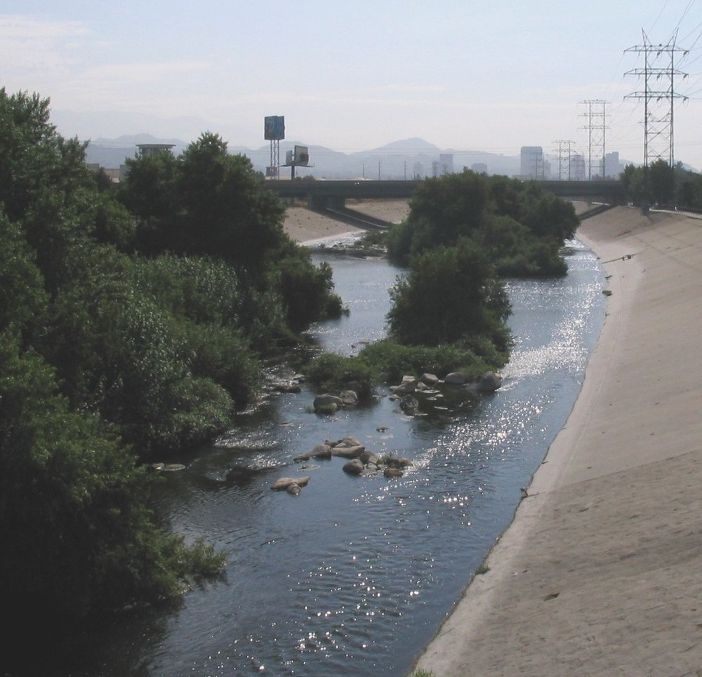 image: LA River, Wiki Commons