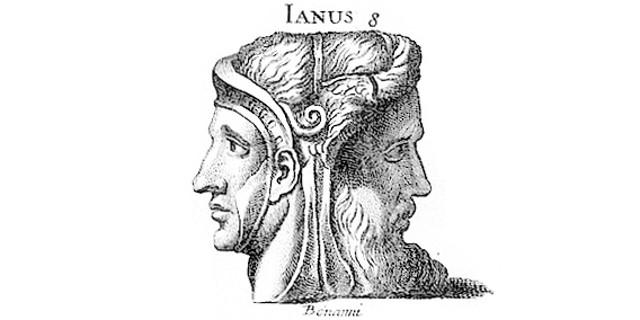 Image result for janus 2 faced god