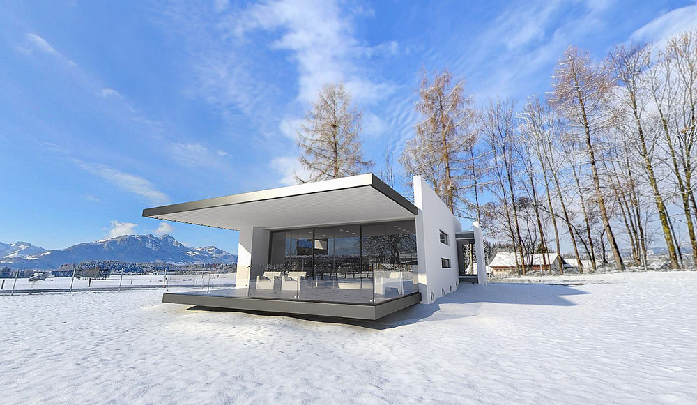 Small House Concept VR tour, Switzerland