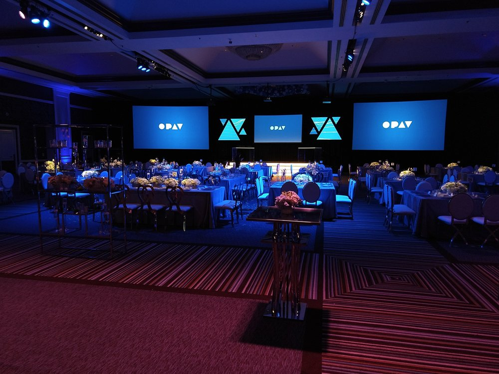 OPAV Providing Audio, Video, Lighting, Projection Mapping, Scenic, & Show Management