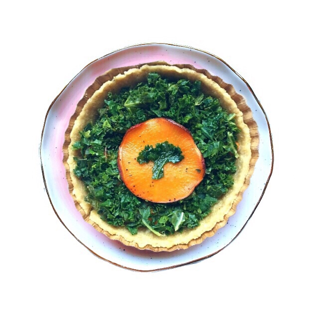 The Frenchy - This is our original and still #1, it's the crust!Goat cheese, kale, sweet potato & caramelized onion in a whole wheat crust:This Tartlet came from our years spent in France. A typical quick meal in the countryside is an onion or tomato tart, we took it to the next level and made it healthier.Our hearty crust uses organically grown whole grain - whole wheat and just a touch of corn flour for texture. We use pastured eggs and local rbst hormone free butter.This is the most nutritious wheat you can buy. It includes the bran & germ, ground in a stone mill the day we order it from Dunbar Farms, a farm 30 minutes from ours.We fill the tartlets with caramelized onions, goat cheese and kale topped with a slice of sweet potato.