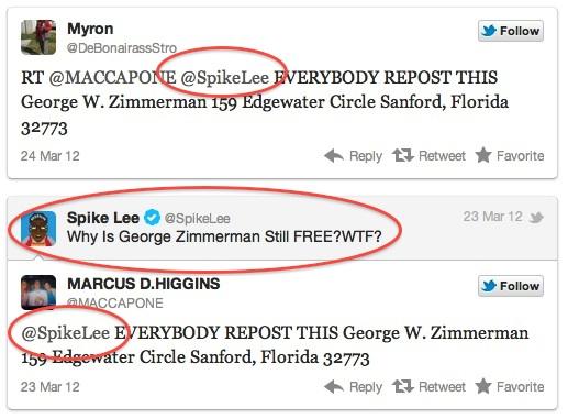 PC; http://barracknow.blogspot.com/2012/03/spike-lee-wants-lynching-tweets-george.html