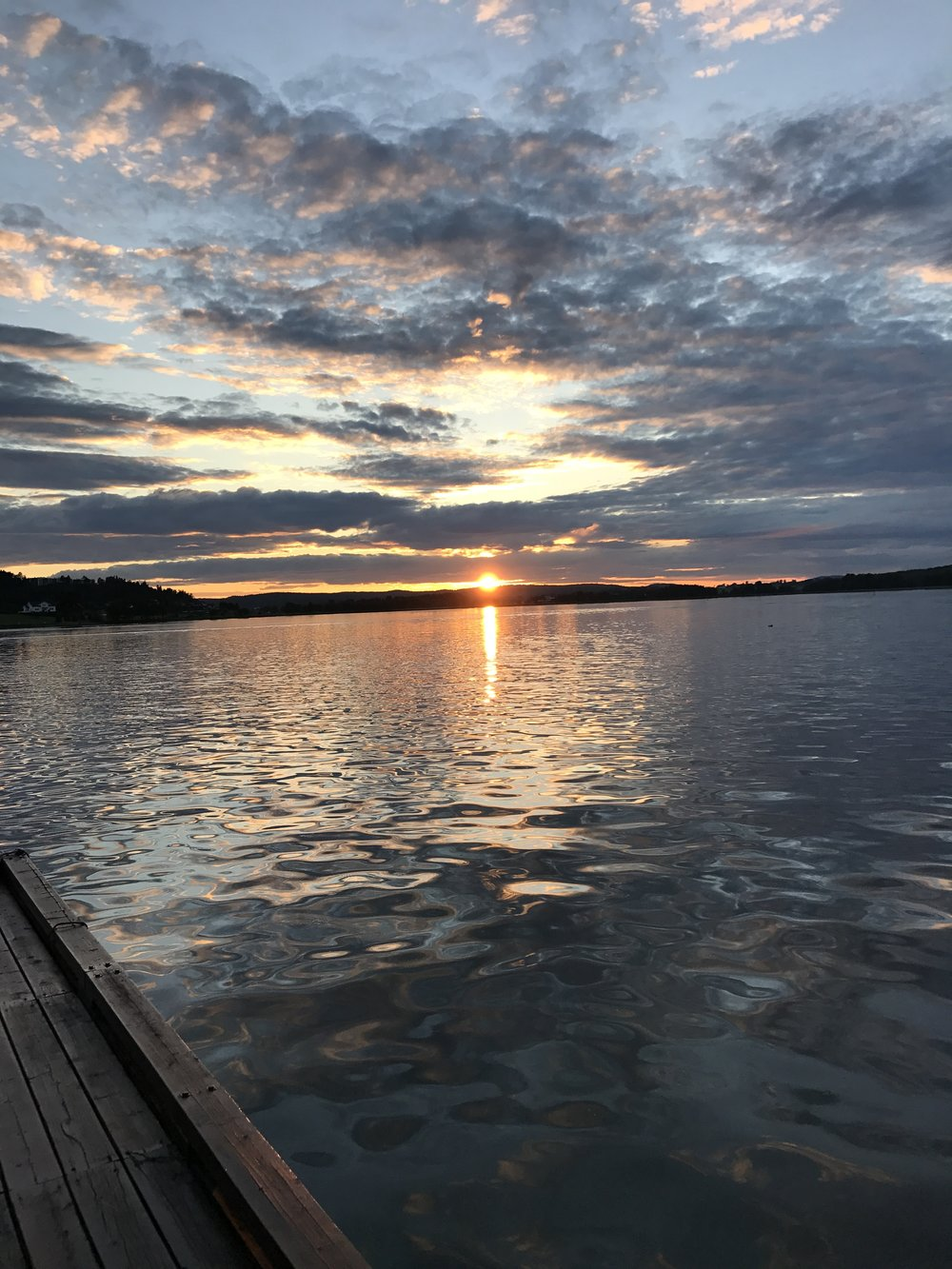 Sommerkveld påkontoret i Tønsberg