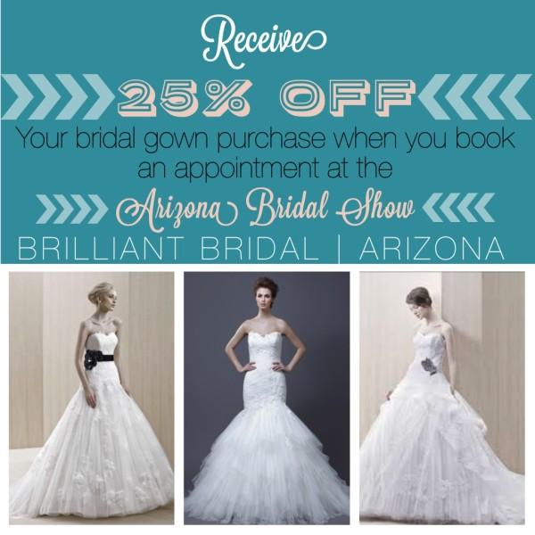 Get a Discount Wedding Dress at the Arizona Bridal Show! — Brilliant ...