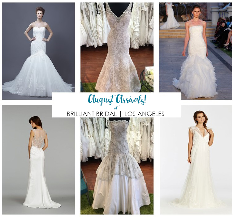 New Arrival Bridal Gowns at Los Angeles Bridal Store — Brilliant Bridal