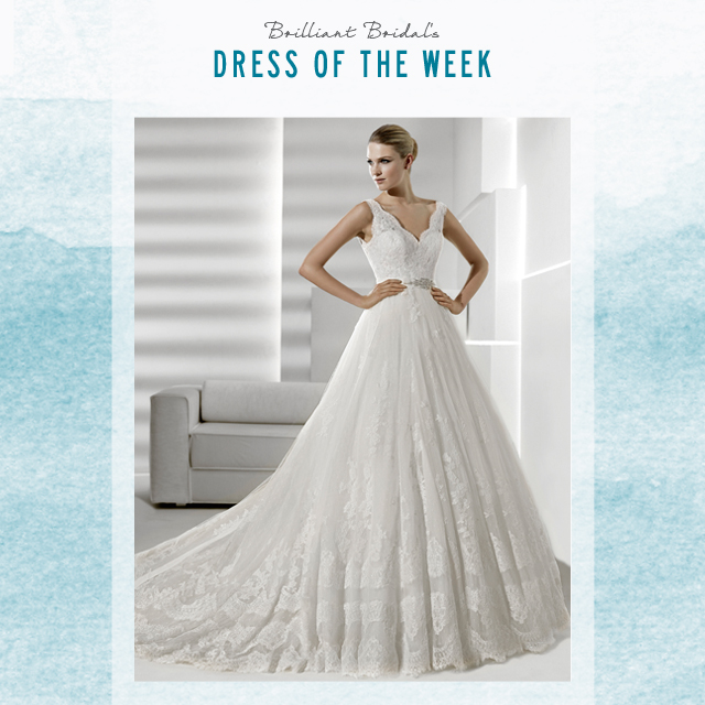 9c9b8f23b5 Phoenix Store Dress of the Week - La Sposa by Pronovias
