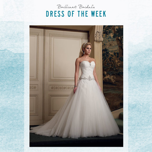 East Valley Dress of the Week - Tulle Ball Gown David Tutera Bridal ...