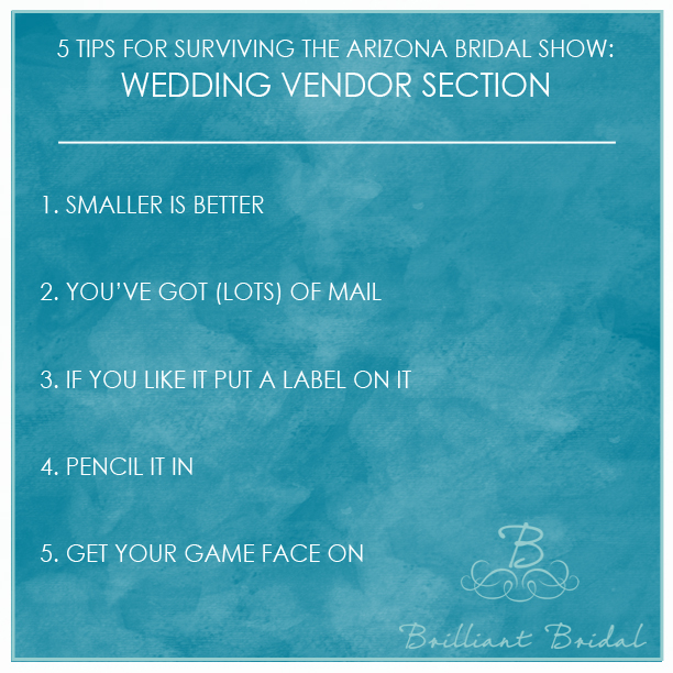 arizona bridal show wedding vendor