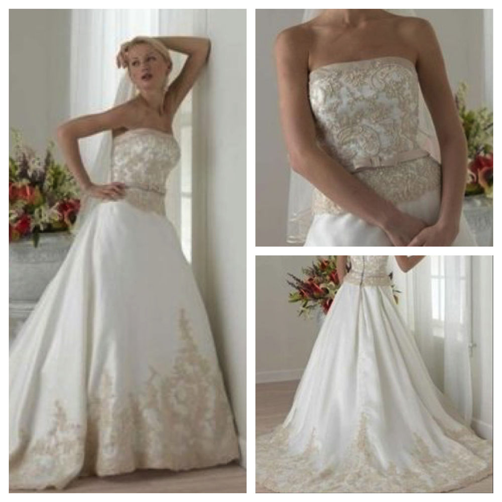 Vintage Inspired Wedding Dress at our Los Angeles Bridal Store ...