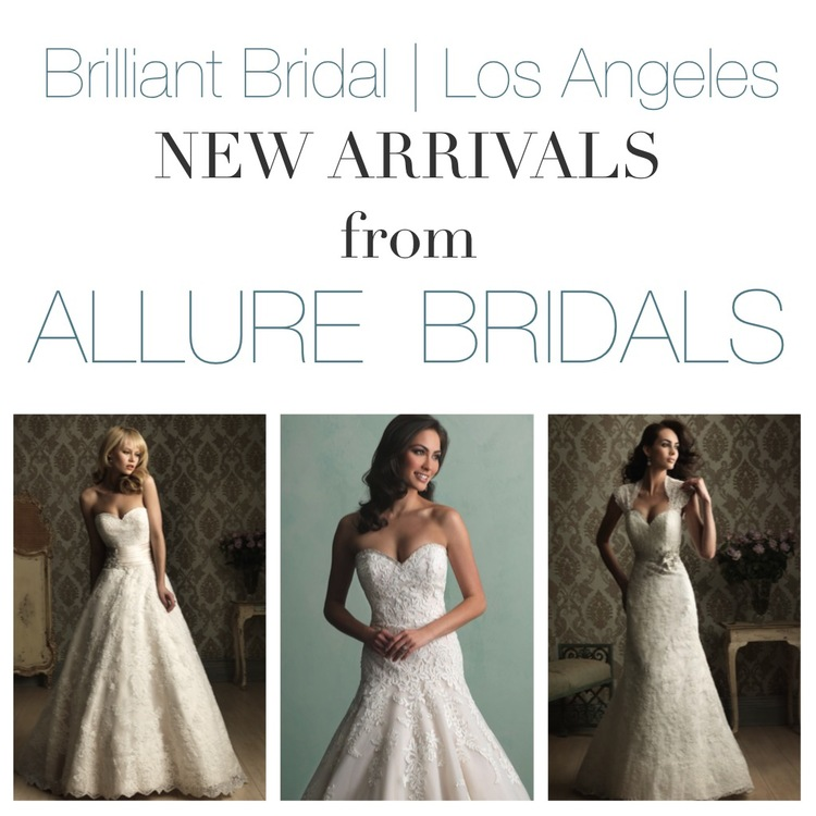 New Allure Bridals Arrivals at Our Los Angeles Bridal Store ...