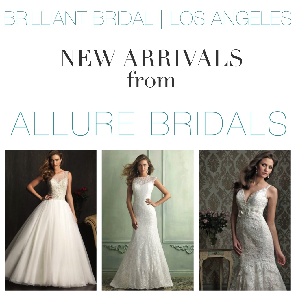 New Arrival Wedding Gowns From Allure Bridals at Our Los Angeles ...