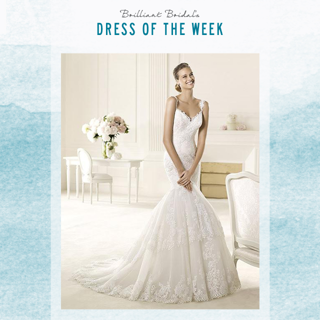 pronovias bridal gown