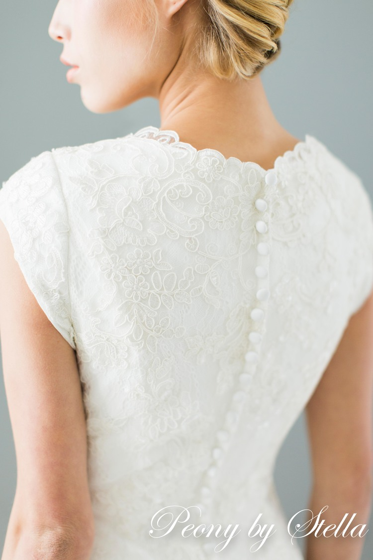 modest bridal gowns